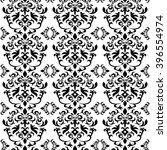 damask pattern background. | Shutterstock .eps vector #396554974