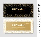 gift premium voucher  coupon... | Shutterstock .eps vector #396587659