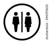 man and woman unisex icon  ... | Shutterstock .eps vector #396595624