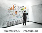 research concept with... | Shutterstock . vector #396600853