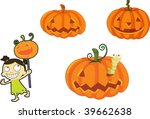 illustration of various objects ... | Shutterstock . vector #39662638