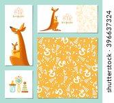 set of 4 universal invitation...   Shutterstock .eps vector #396637324