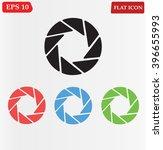 camera shutter vector icon | Shutterstock .eps vector #396655993