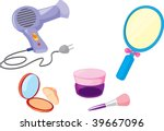 illustration of various objects ... | Shutterstock . vector #39667096
