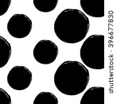 B W Seamless Pattern With Love...
