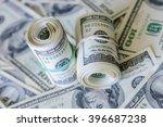 100 dollar bills | Shutterstock . vector #396687238