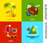 travel square concepts ... | Shutterstock .eps vector #396692878