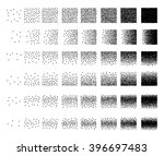 set of 48 triangle stipple... | Shutterstock . vector #396697483