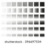 set of 48 vertical band stipple ... | Shutterstock . vector #396697534