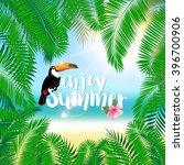 summer poster  t shirt print... | Shutterstock .eps vector #396700906
