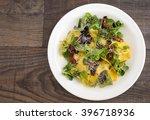 italian cuisine ravioli with... | Shutterstock . vector #396718936