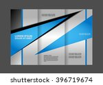 template design trifold... | Shutterstock .eps vector #396719674