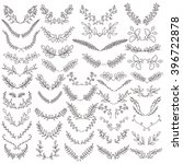 the set of hand drawn vector... | Shutterstock .eps vector #396722878