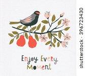 enjoy every moment. print design | Shutterstock .eps vector #396723430