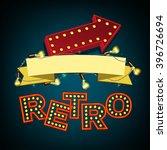 rertro banner image | Shutterstock .eps vector #396726694