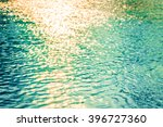 water bokeh in the sea at sunset | Shutterstock . vector #396727360