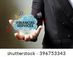financial service concept with... | Shutterstock . vector #396753343