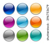 glossy buttons | Shutterstock .eps vector #396753679