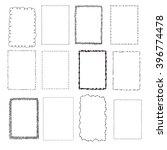 set handdrawn frames | Shutterstock .eps vector #396774478