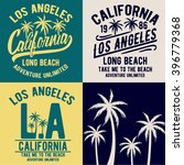 los angeles  california... | Shutterstock .eps vector #396779368