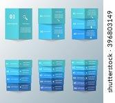 paper infographic design... | Shutterstock .eps vector #396803149