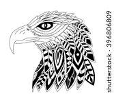 vector illustration of head... | Shutterstock .eps vector #396806809