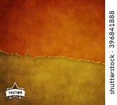 grunge background. vector... | Shutterstock .eps vector #396841888