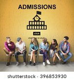 admissions education knowledge... | Shutterstock . vector #396853930