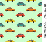 seamless vector pattern with... | Shutterstock .eps vector #396856210