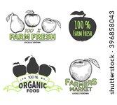Set Of Farm Fresh Labels.