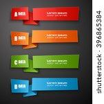 information infographic... | Shutterstock .eps vector #396865384