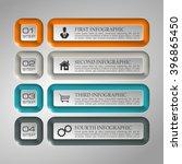 information infographic... | Shutterstock .eps vector #396865450