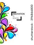 vector illustration of abstract ...   Shutterstock .eps vector #396866800
