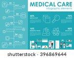 medical care concept hospital...   Shutterstock .eps vector #396869644