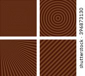 simple abstract brown striped... | Shutterstock .eps vector #396873130