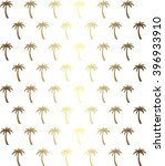palm tree seamless pattern in... | Shutterstock .eps vector #396933910