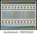 low polygon triangle pattern...   Shutterstock . vector #396941260