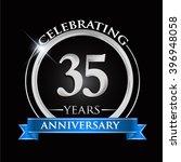 celebrating 35 years... | Shutterstock .eps vector #396948058