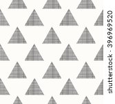 black fabric triangles on a... | Shutterstock .eps vector #396969520