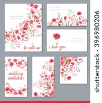 floral spring templates with... | Shutterstock .eps vector #396980206