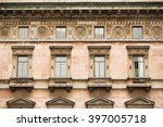 detail view of historic... | Shutterstock . vector #397005718