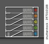 information infographic... | Shutterstock .eps vector #397010188