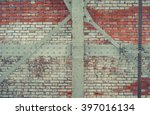 Industrial Brick Wall With Gre...