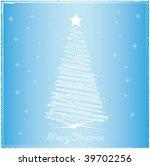 christmas background   Shutterstock .eps vector #39702256