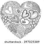 Vector Heart Pattern For...