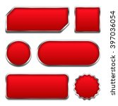 set of red buttons with...