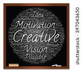 concept or conceptual abstract... | Shutterstock . vector #397043650