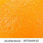 orange fruit texture closeup... | Shutterstock . vector #397044910