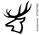 deer icon | Shutterstock .eps vector #397067080