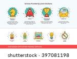 slide design for studio agency... | Shutterstock .eps vector #397081198